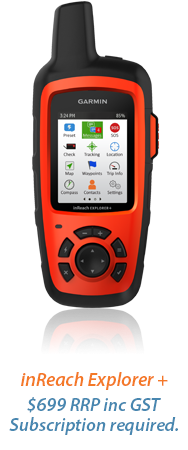 inreach explorer+ $699 RRP inc GST Subscription required.