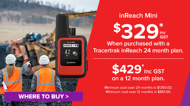 inreach mini. save when purchased with a tracertrak plan.