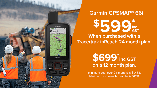 garmin gpsmap 66i. save when purchased with a tracertrak plan.